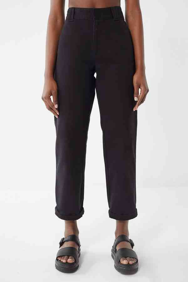33a3a33ce95b3a Slide View  4  Dickies Cuffed Cropped Work Pant