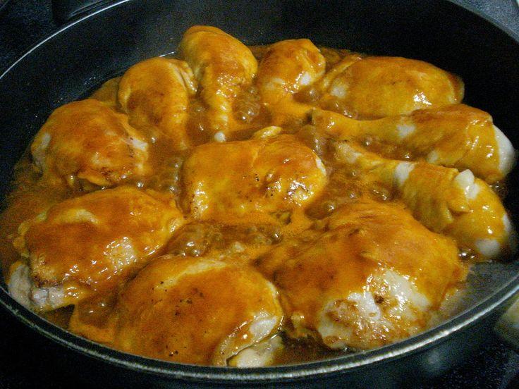 Recette de poulet aux écrevisses, sauce Riesling (Alsace)