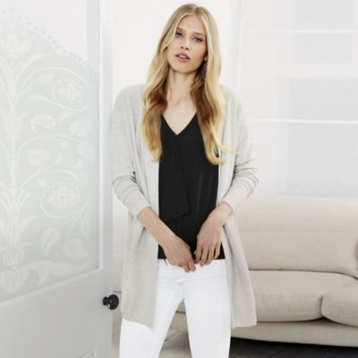 Cashmere Stitch Cardigan from The White Company