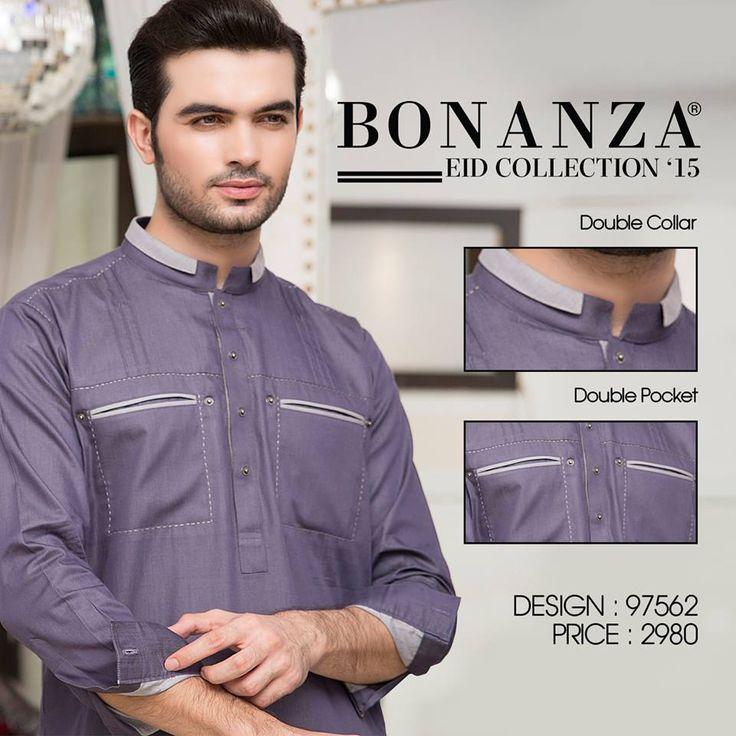 Bonanza Exclusive Men Kurta Eid Collection'15