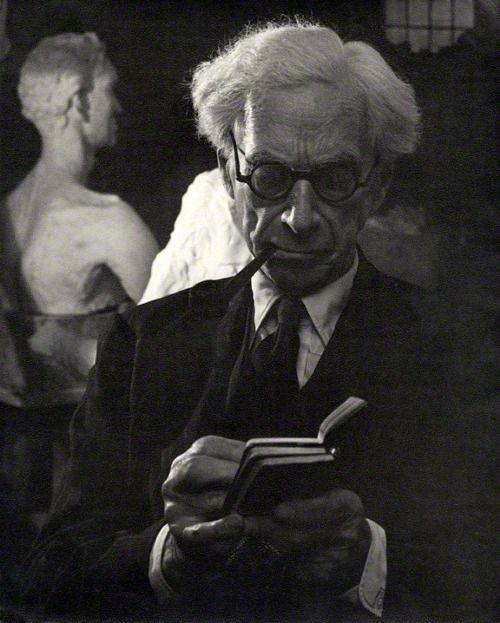 Bertrand Russell Photo by Ida Kar