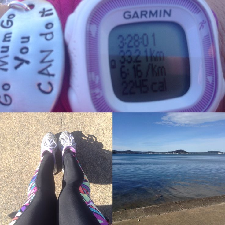 My longest run to date. 33.21 kms. Long and slow as I am still a bit sore from last weekend x