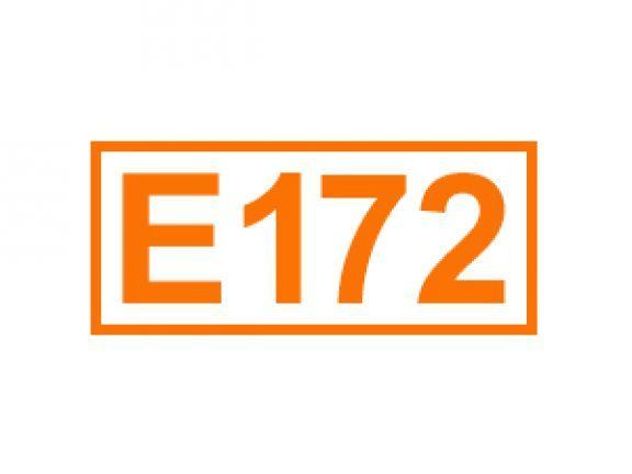 E 172 auch Eisenoxid genannt. Erfahren Sie alles über diese Kennzeichnung von Lebensmittelzusatzstoffen, ihren Einsatz sowie Bedenklichkeiten.