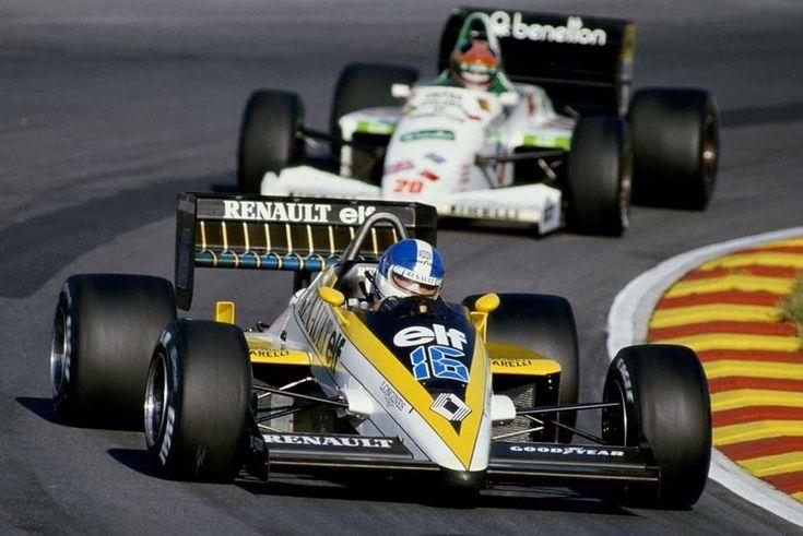 1985 Renault RE60 (Derek Warwick)