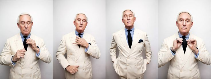 Roger Stone Rides Donald Trump's Well-Tailored Coattails - The New York Times