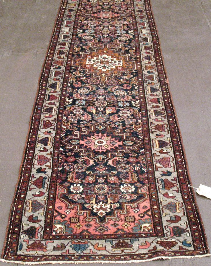 2'8''x9'6'' ANTIQUE PERSIAN MALAYER Tribal Hand Knotted Wool RUNNER Oriental Rug in Antiques, Rugs & Carpets, Runners | eBay