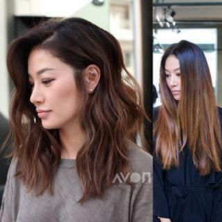 Vorher und nachher. Haartransformation mit Tiffany Sorge Farbtönen. Ich muss admi … #admi #Hair #Shades #Sorge #Tiffany