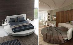 decorar con camas redondas