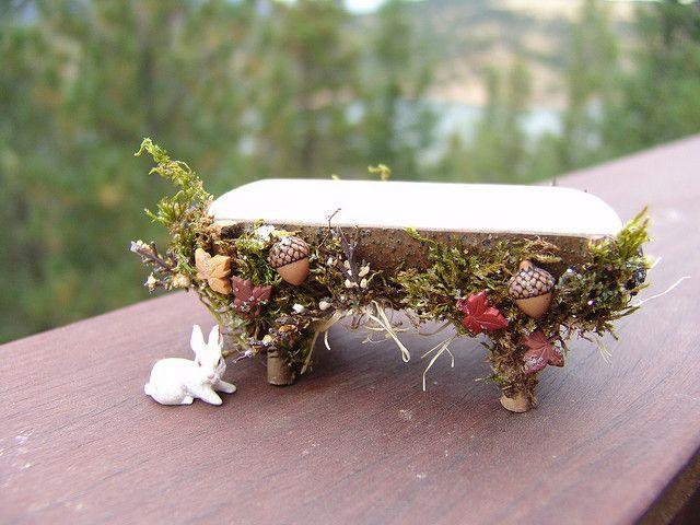 Fairy Garden Bench