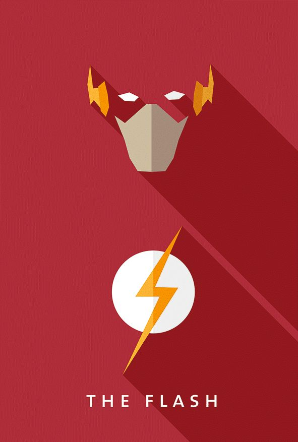 As a fan of flat design and movie/comic heroes and villains, I tried to mix both of them in my own style. Enjoy!