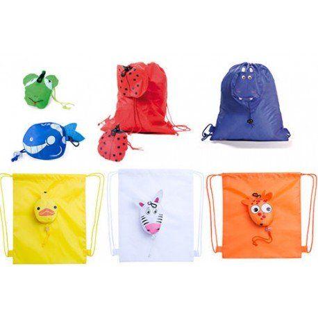 Regalos para niños, regalos cumpleaños. Mochila plegable animalitos. El regalo ideal para los niñ@s, la pueden utilizar tanto de bolsa para merienda, para el almuerzo de los peques, o como mochila  perfecto para los niños.  #cumpleaños #regalosbaratoscumpleaños #regalos #regalosinfantilesparaelcolegio #niños #futbol #balon #detallesniñosboda #chuches #detallescumpleañosinfantil #regalosinfantilesboda #regalosparalosniñoscomunion #regalosinfantilesbautizo #regalosparainvitadosdecomunion…