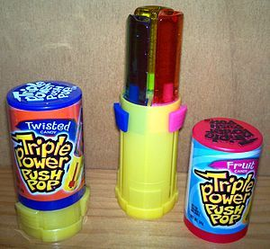 Push Pop Candy. these were really good
