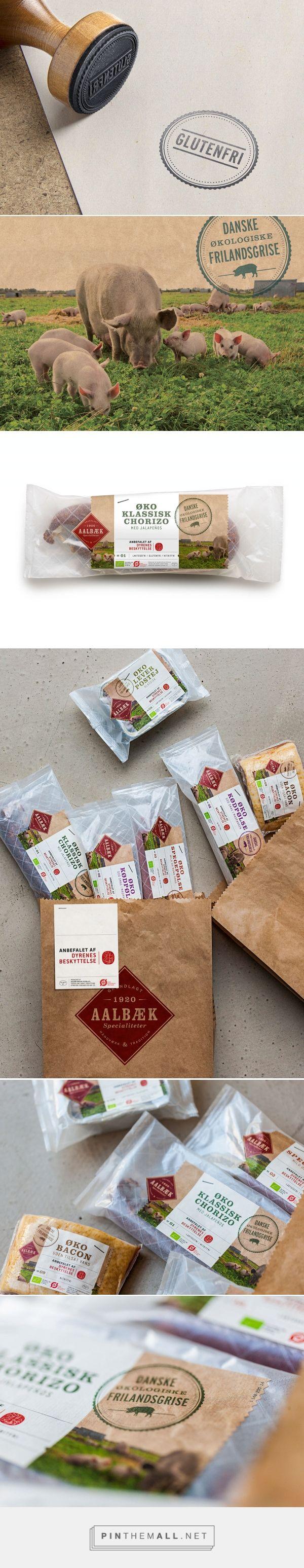 Aalbæk Welfare on Behance by Bessermachen DesignStudio curated by Packaging Diva PD. Tasty food packaging. Looks like it's gluten free too.