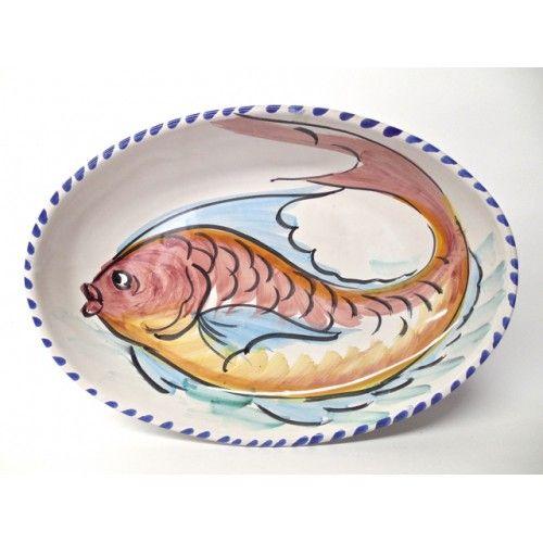 17 best images about ceramic on pinterest serving bowls for Fish serving platter