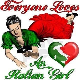 Everyone loves an Italian girl.