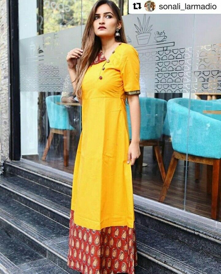 Mustard and Maroon Flap cotton Maxi.Mumbai based..Delivery all over India and outside India.For details and bookings pls contact on 7400497020.FB Link - https://www.facebook.com/Miar-Designs-1039717622785710/