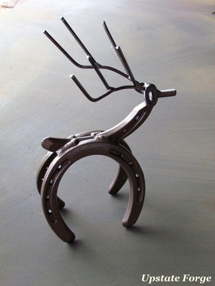 278 best welding images on pinterest welding projects metal art horseshoe reindeer diy home project solutioingenieria Gallery
