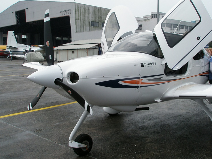 Cirrus SR20 Aircraft in Subang Airport