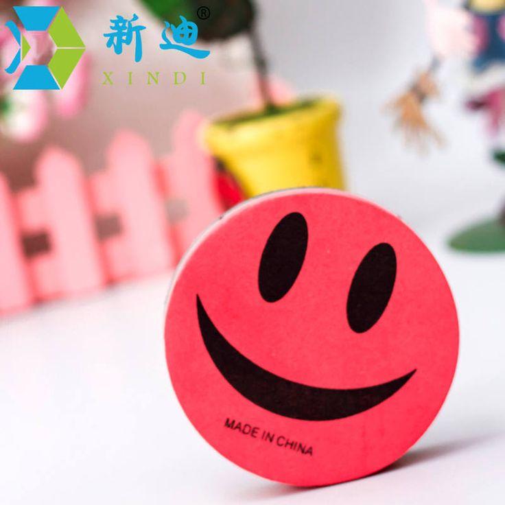 Free Shipping 2016 New Smile Face Magnetic Board Eraser Whiteboard Wipe Dry School Blackboard Marker Cleaner