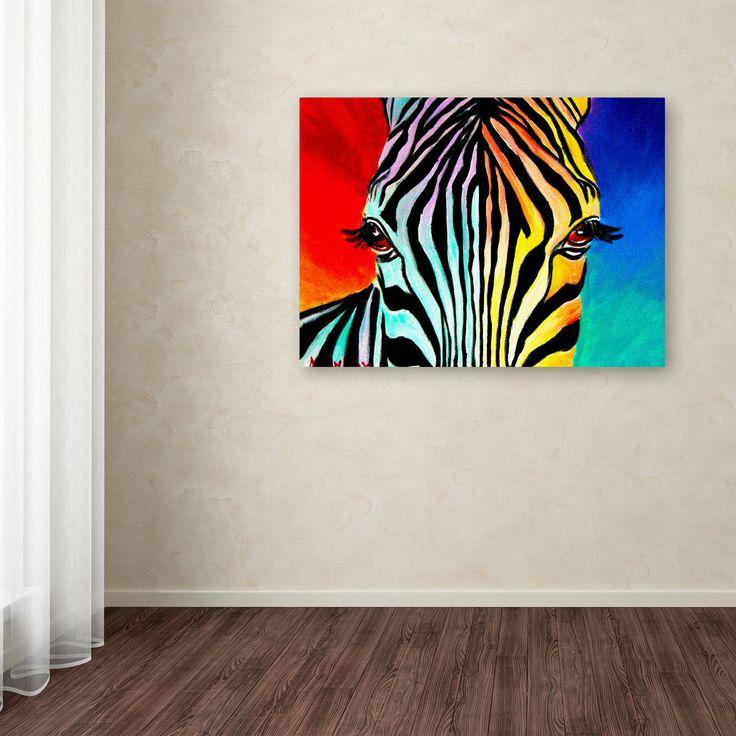 DawgArt 'Zebra' Canvas Art | Overstock.com Shopping - The Best Deals on Canvas