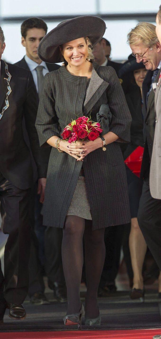 Koningin Maxima bezoek Lely Campus 30-1-2014