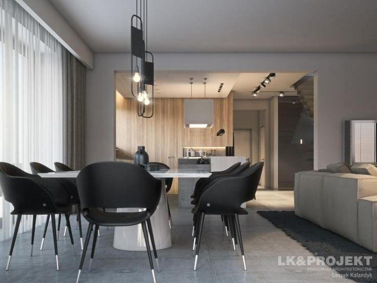 LK&1302 - http://lk-projekt.pl/lkand1302-produkt-9625.html  #project #houseproject #house #modern #architecture #polisharchitecture #homesweethome #singlefamilyhouse #exterior #build #dreamhome #dreamhouse #design #villa #residence #livingroom