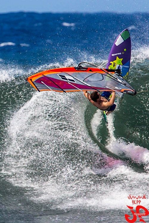 Windsurfing is what they do in my country!!