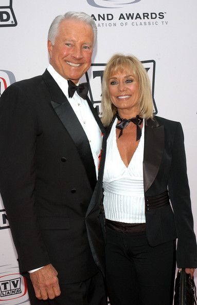 Lyle Waggoner and Sharon Kennedy Photos Photos - Actor Lyle Waggoner (L) and his wife Sharon Kennedy arrives at the 2005 TV Land Awards at Barker Hangar on March 13, 2005 in Santa Monica, California. - 2005 TV Land Awards - Arrivals