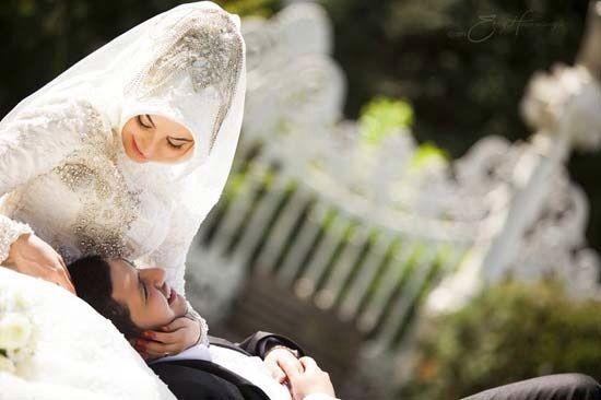 True love❤️ Romantic Muslim couple