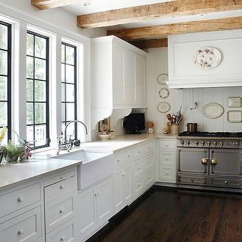 La Cornue CornuFe Range, Cottage, kitchen, Litchfield Designs