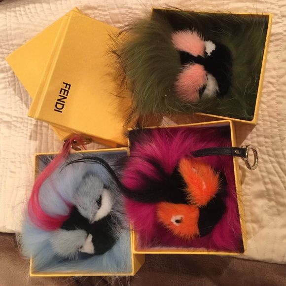 AUTHENTIC FENDI monsters (sold separate) New fendi monsters FENDI Accessories