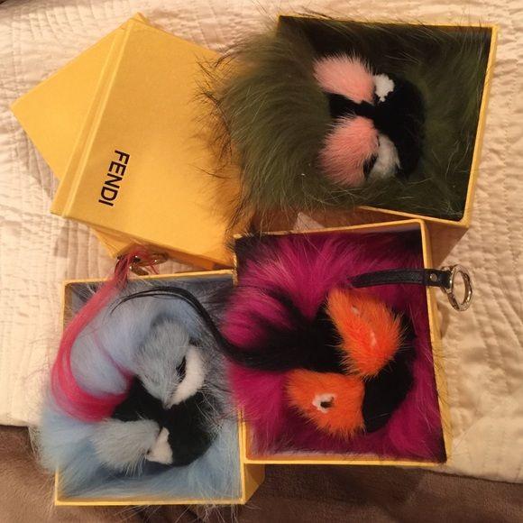 AUTHENTIC FENDI monsters (sold separate) New fendi monsters FENDI Accessories