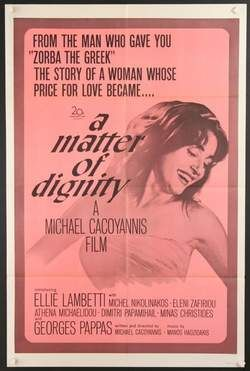 """A matter of dignity"" with Ellie Lambeti #greek"