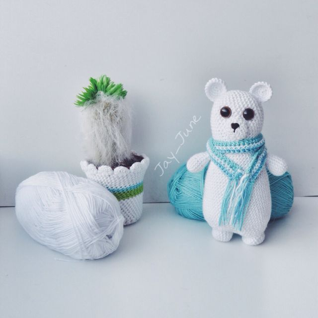 Polar bear | Crocheting | Amigurumi