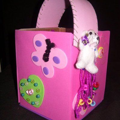 125 best easter crafts images on pinterest easter crafts homemade easter baskets negle Image collections