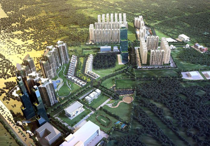 KUL Nation - An Integrated Township by Kumar Builders KUL located in Kharadi Pune.