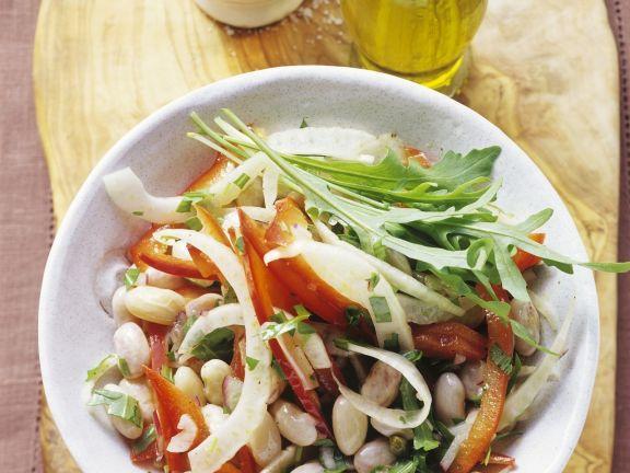 Salat aus Borlotti-Bohnen ist ein Rezept mit frischen Zutaten aus der Kategorie Hülsenfrüchte. Probieren Sie dieses und weitere Rezepte von EAT SMARTER!