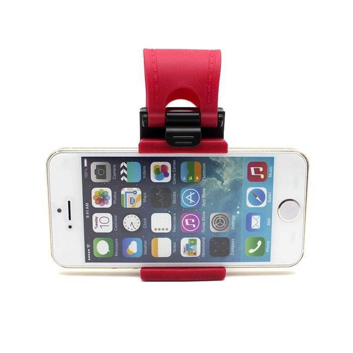 Steering Wheel Cradle Holder SMART Clip Car/Bike Mount for Mobile Phone GPS MP4 #UnbrandedGeneric