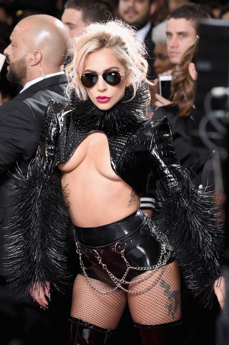 Lady Gaga Is a Dominatrix Cheerleader at the Grammys