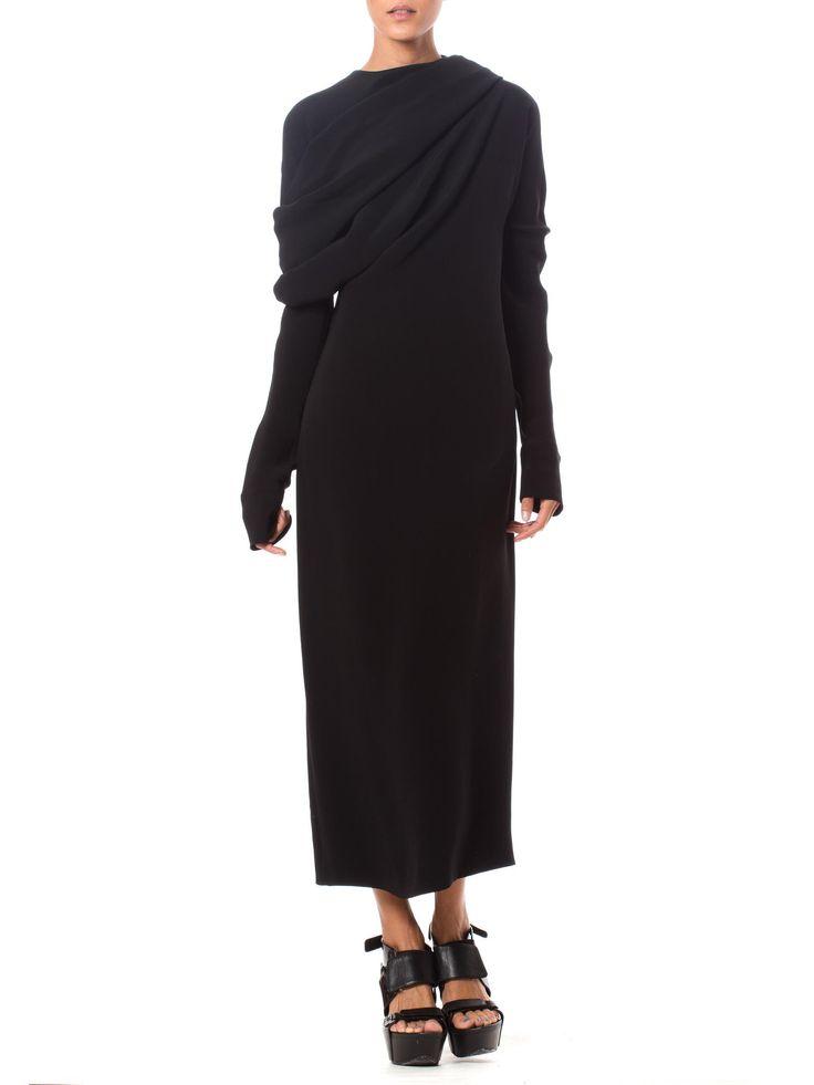 Ann Demeulemeester Silk Dress