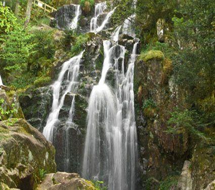 cascades vosges, grande cascade de Tendon