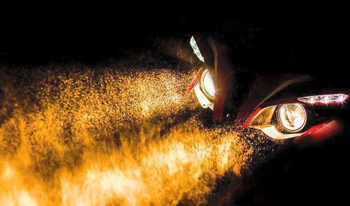 Red hot lights