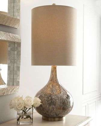 Drip glaze lamp by john richard collection at horchow