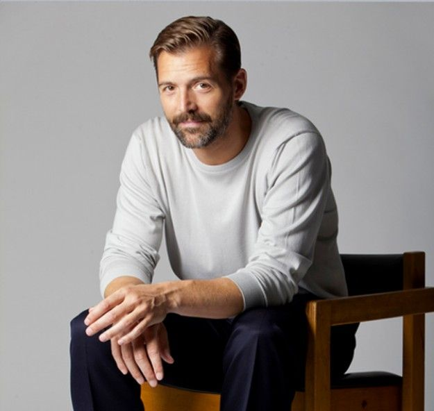 I meant to pin a picture of the winner of the Great British Sewing Bee, but found Patrick Grant instead ... oh well, congratulations to Heather anyway!