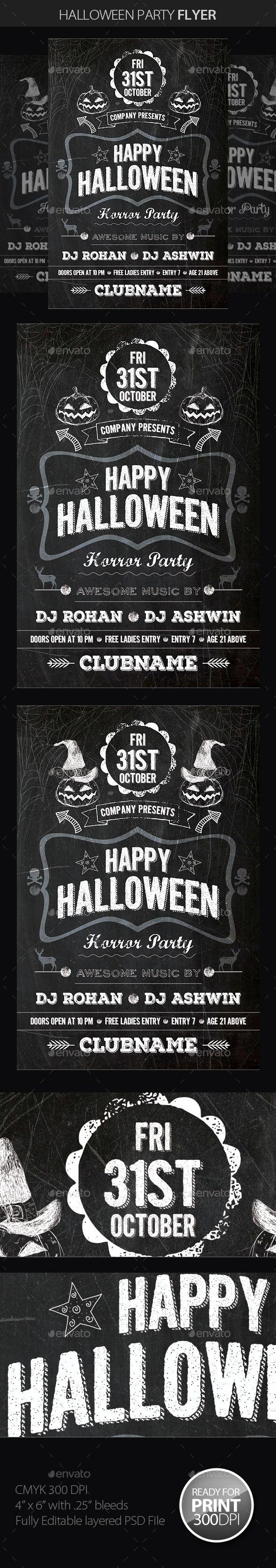 Best 25+ Halloween party flyer ideas on Pinterest | Flyers ...