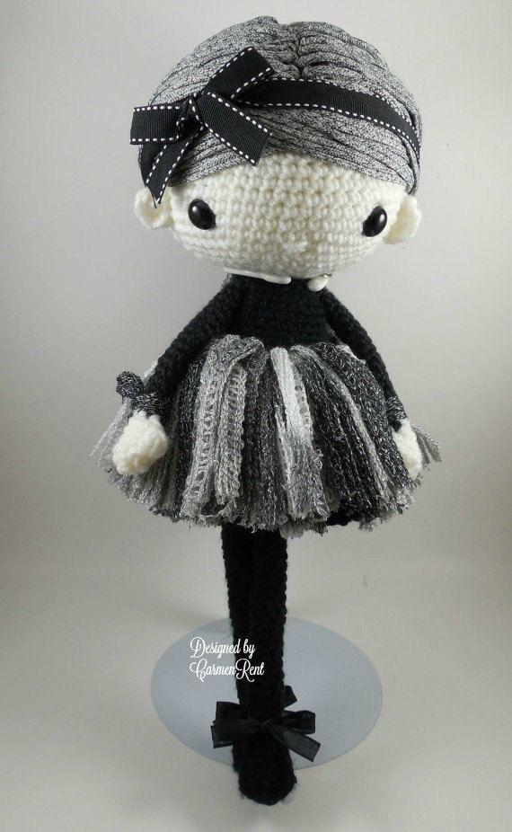 Navil Amigurumi Doll Crochet Pattern PDF por CarmenRent en Etsy