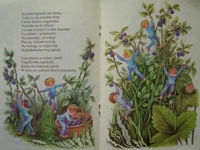 Na Jagody by Maria Konopnicka, illustrated by Anny Stylo-Ginter