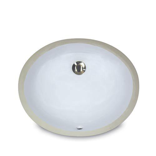 Mini Oval Undermount Vanity Bowl White Nantucket Sinks Undermount Bat