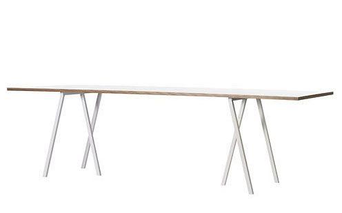 Loop Stand Table Matbord Vitt - Miljögården Möbler AB