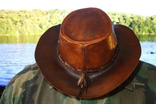 """How To Make A Leather Bushcraft Hat Project  Homesteading  - The Homestead Survival .Com     """"Please Share This Pin"""" #bushcraftprojects #bushcraftleatherprojects"""